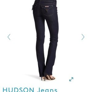 Hudson Beth Baby Bootcut color- signal blue